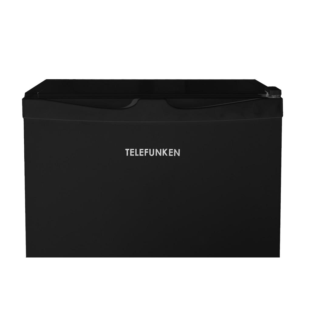 Telefunken Kühlschrank »CF-31-121-B«, (90 Liter / schwarz)