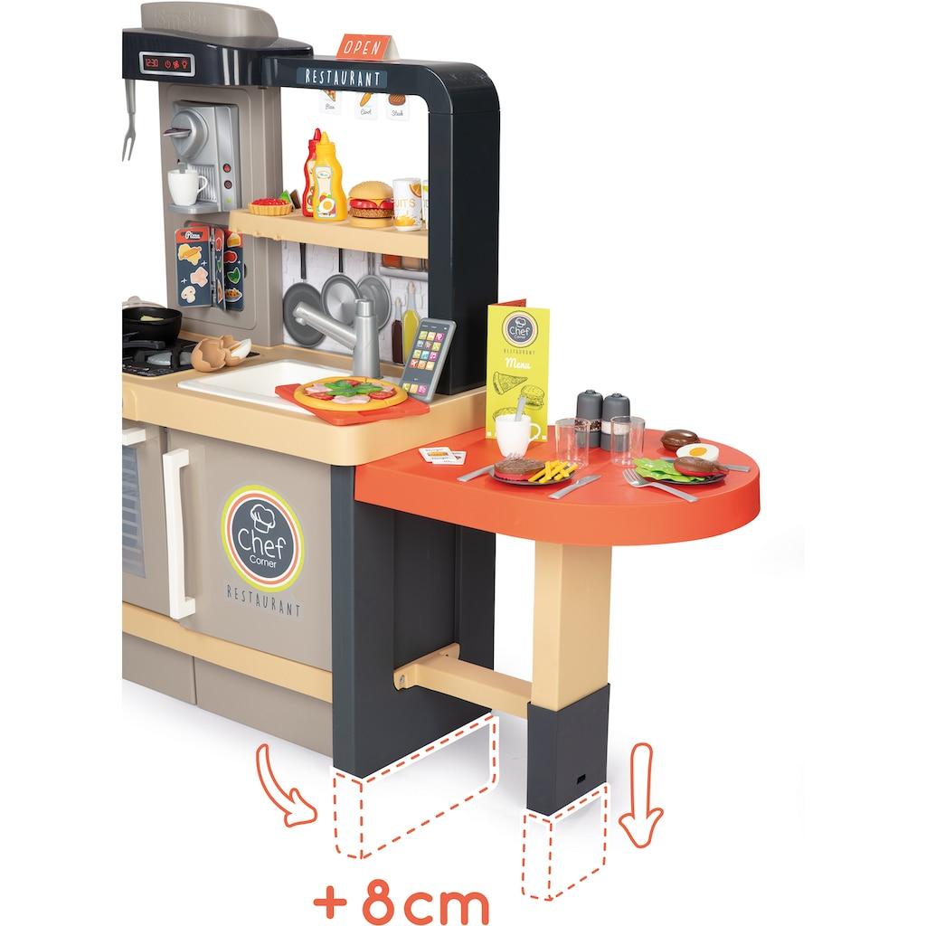 Smoby Spielküche »Chef Corner Restaurant«, (70 St.), Made in Europe