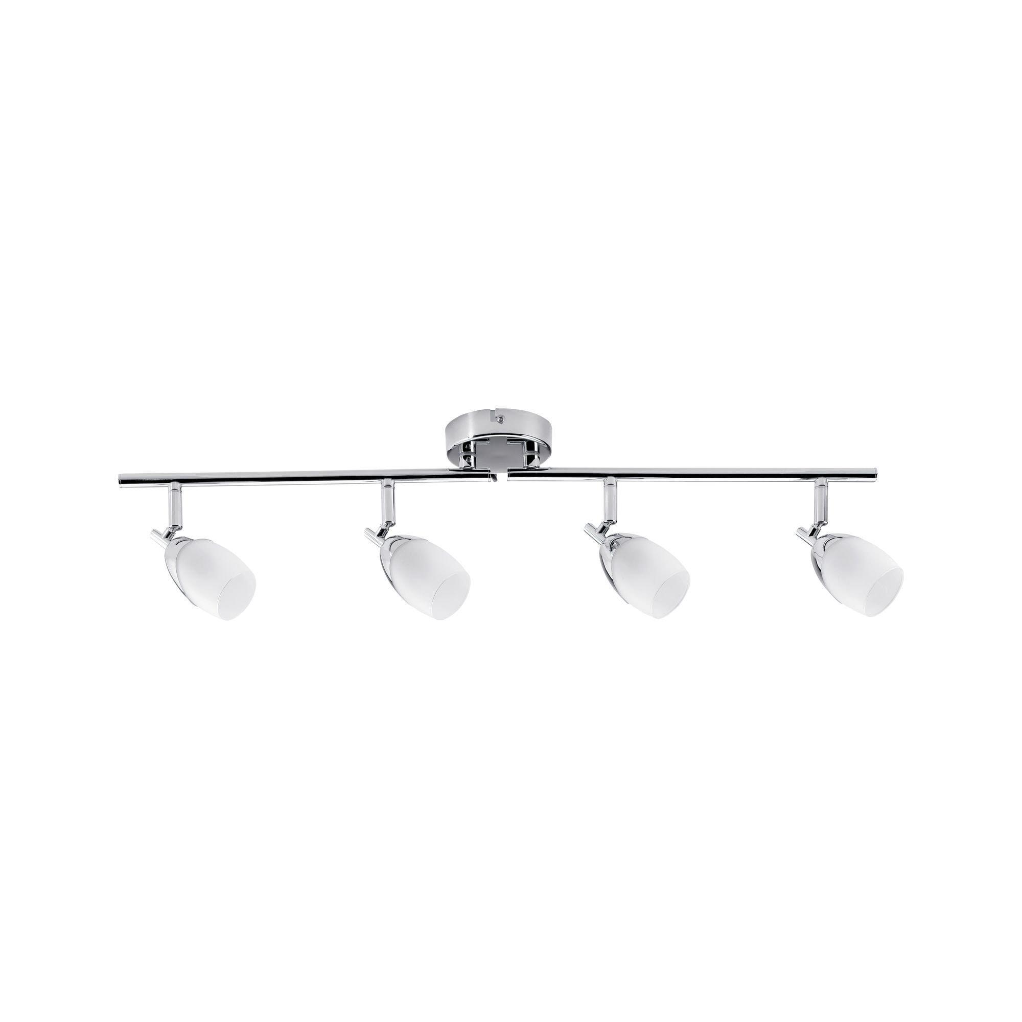 Paulmann,LED Deckenleuchte 4er-Spot G9 Silberfarben Chrom Yasmin ohne Leuchtmittel, max. 10W