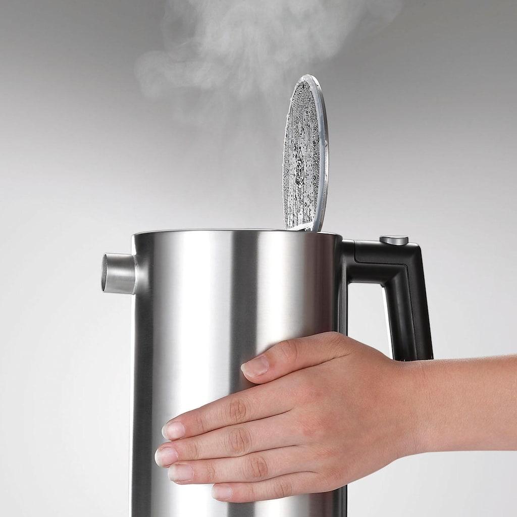 Graef Wasserkocher »WK 900«, 1,2 l, 2015 W, mit Temperatureinstellung, Edelstahl mattiert