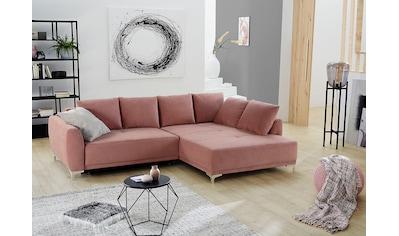 Jockenhöfer Gruppe Polsterecke, moderne Polsterecke im schicken Design, mit... kaufen