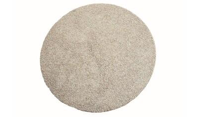 Hochflor - Teppich, »Comtesse«, Living Line, rund, Höhe 30 mm, maschinell getuftet kaufen
