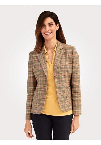 Mona Kurzblazer, mit Glencheck-Muster kaufen