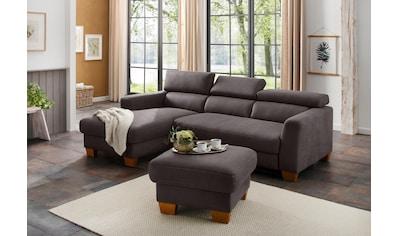 Home affaire Ecksofa »Steve Luxus« kaufen