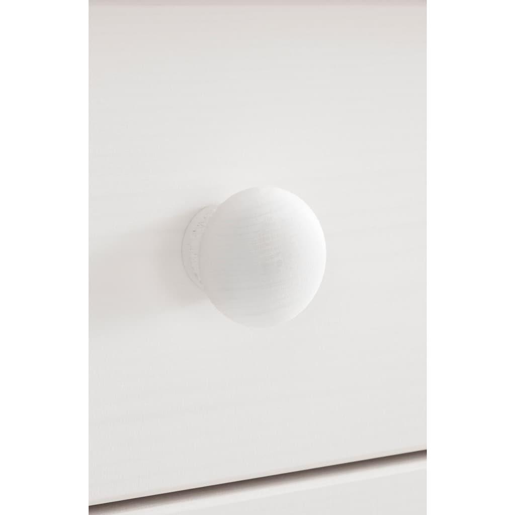 Home affaire Buffet »Sylt«, Breite 122 cm, oben 3 Glastüren