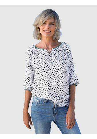 Dress In Bluse mit schönem Herzendruck kaufen