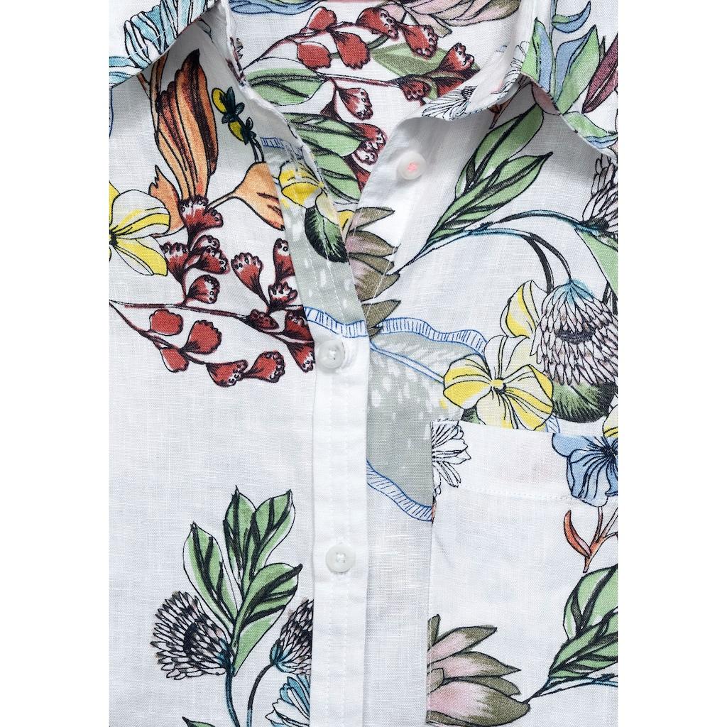 Cecil Hemdbluse, mit floralem Printmuster