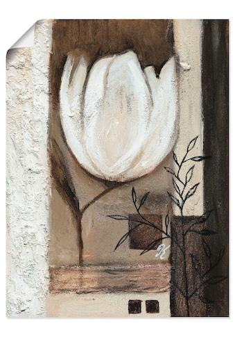 Artland Wandbild »Braune Tulpen II«, Blumen, (1 St.), in vielen Größen & Produktarten... kaufen