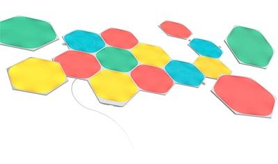 nanoleaf LED Panel »Nanoleaf Shapes Hexagons Starter Kit 15 PK«, LED-Board, Farbwechsler kaufen
