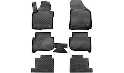 WALSER Passform - Fußmatten »XTR«, für VW Touran I, II, 7 Sitze BJ 2003  -  2010, 2010  -  2015 kaufen