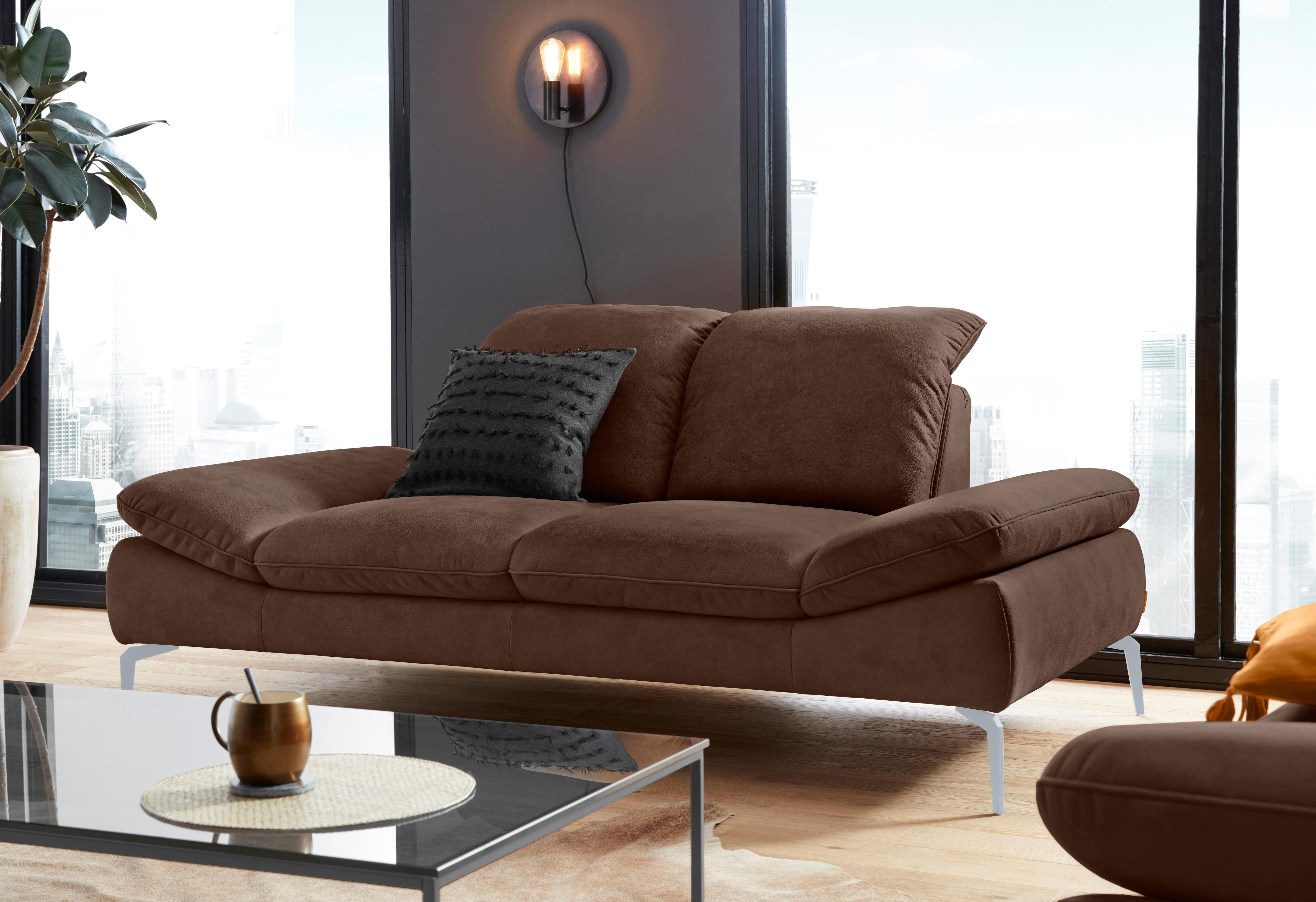 WSCHILLIG 2-Sitzer enjoy&MORE Füße silber matt Breite 202 cm