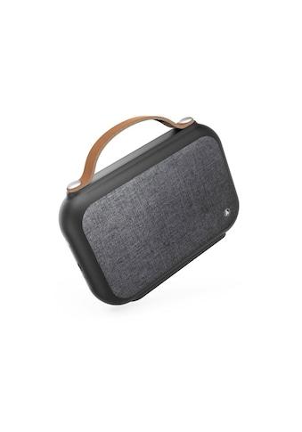 Hama Mobiler Lautsprecher, portable Bluetooth - Box, Power Pack »Gentleman, Spritzwasserschutz« kaufen