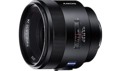 Sony Objektiv »A - Mount - Objektiv 50 mm, F1.4 Z, SAL50F14Z« kaufen