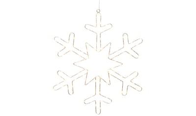KONSTSMIDE LED Dekolicht, Extra-Warmweiß, Mikro LED Silberschneeflocke für den... kaufen
