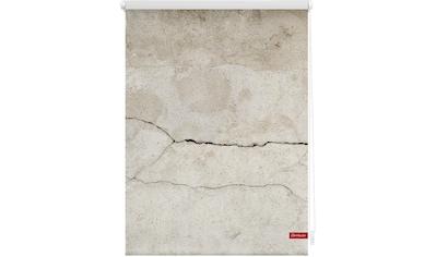 LICHTBLICK Seitenzugrollo »Rollo Klemmfix, ohne Bohren, Verdunkelung, Beton - Grau«, verdunkelnd, Verdunkelung, freihängend kaufen