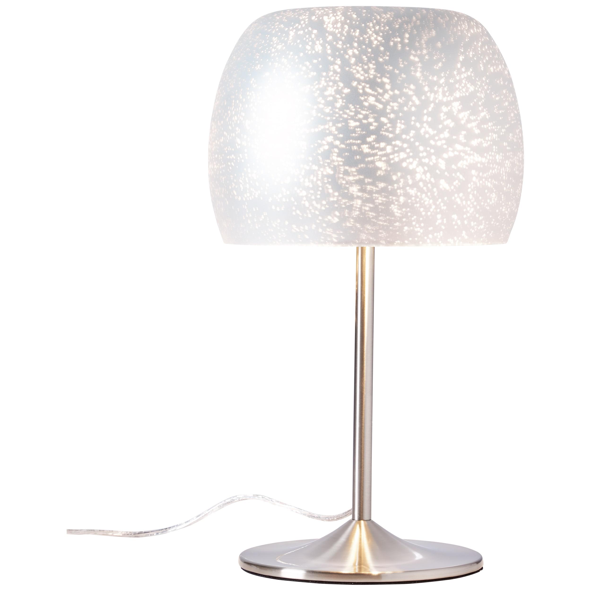 Brilliant Leuchten Gleam Tischleuchte silber
