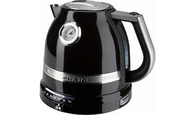KitchenAid Wasserkocher »5KEK1522EOB«, 1,5 l, 2400 W, onyx schwarz kaufen