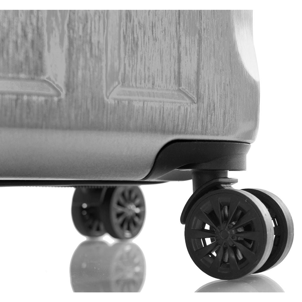 Heys Hartschalen-Trolley »Blade, 55 cm«, 4 Rollen, mit Volumenerweiterung