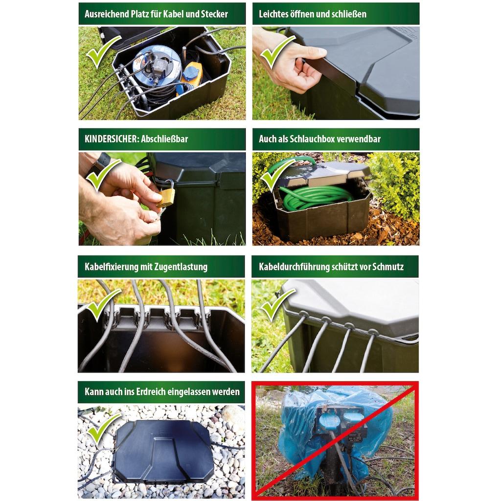 Heissner Stromverteiler »Garden Power Box«, für Teich- oder Pool-Stromversorgungen