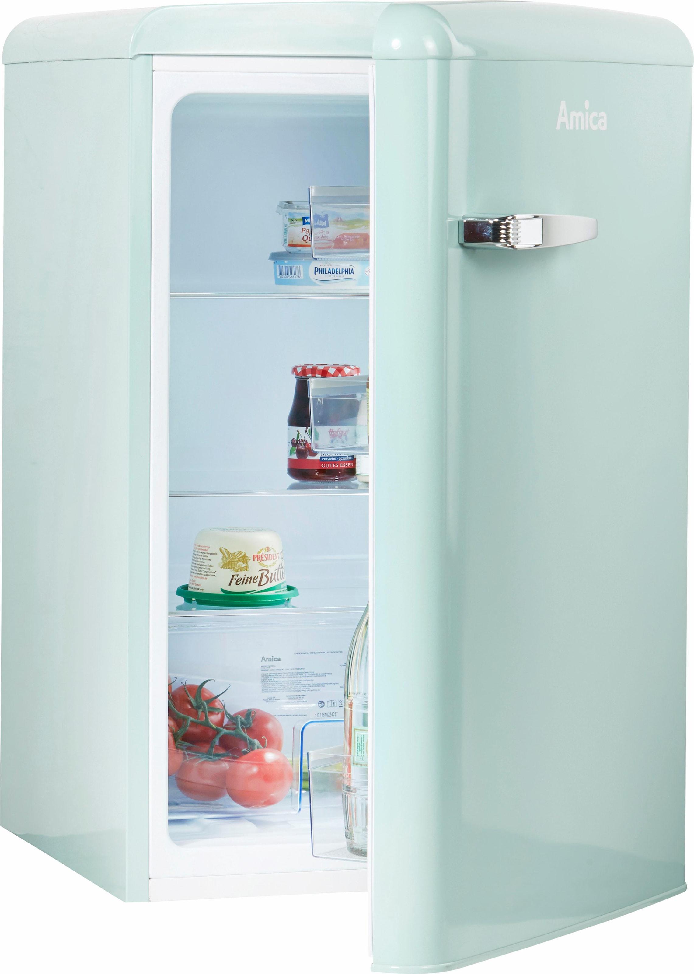 Amica Retro Kühlschrank Hellblau : Retro kühlschränke auf rechnung raten kaufen baur