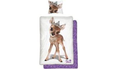 Kinderbettwäsche »Tiara Reh«, kaufen