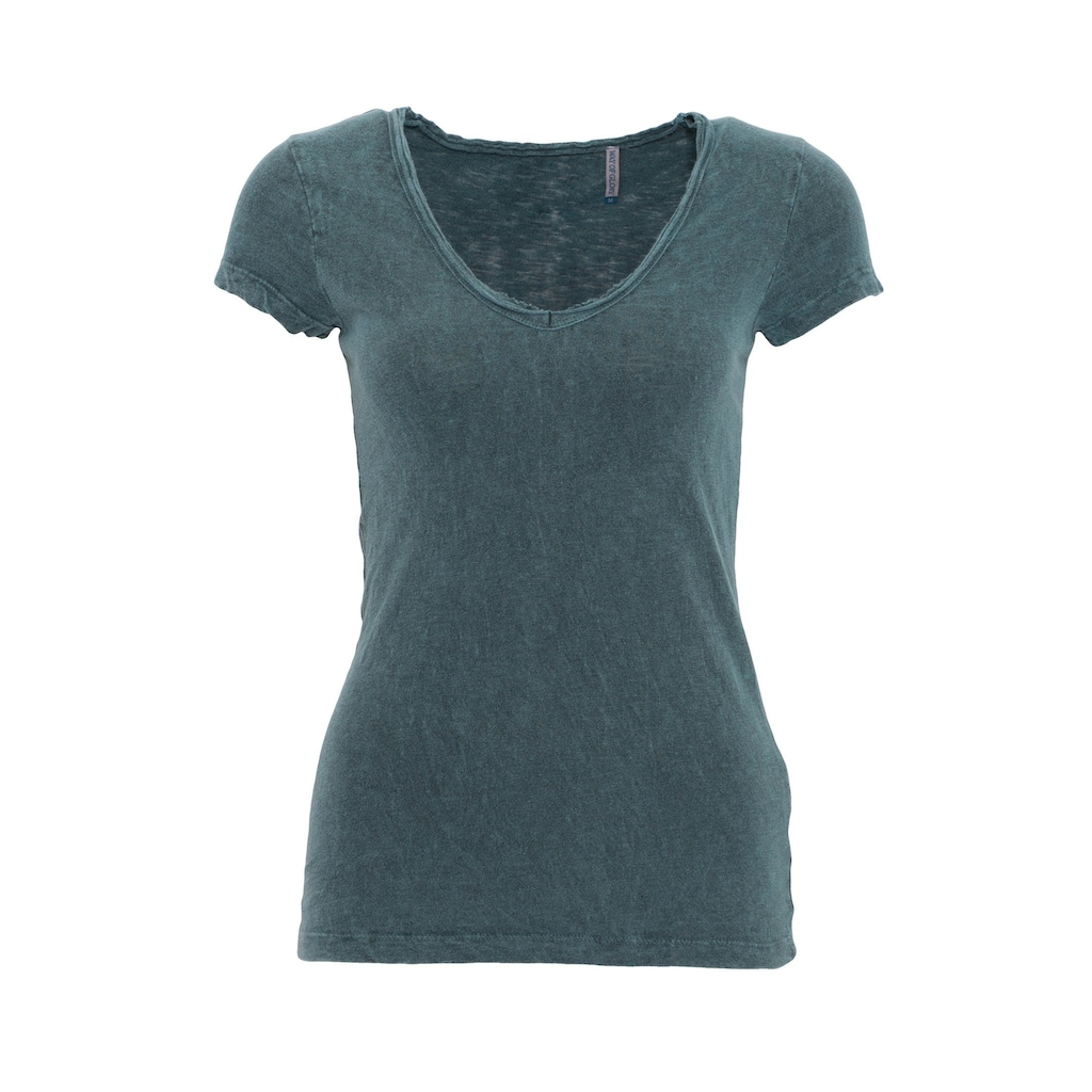 Way of Glory T-Shirt, Round neck im helle Waschung