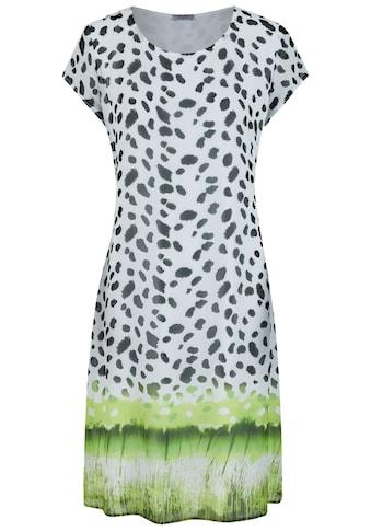 Seidel Moden Sommerliches Print Kleid mit Kurzarm kaufen