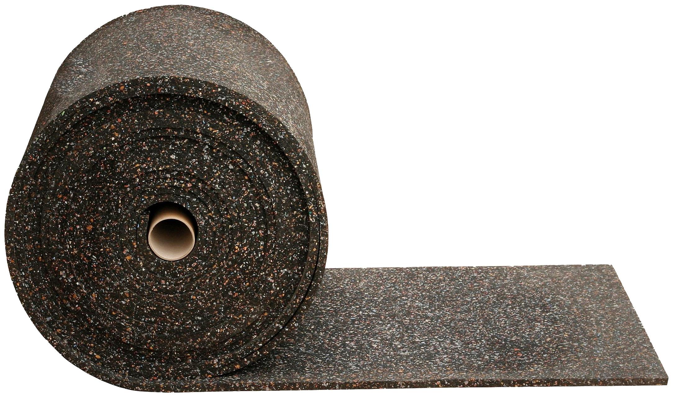 SZ METALL Gummimatte, zur Dämpfung, 200x60 cm (LxB) schwarz Gummimatte Metall