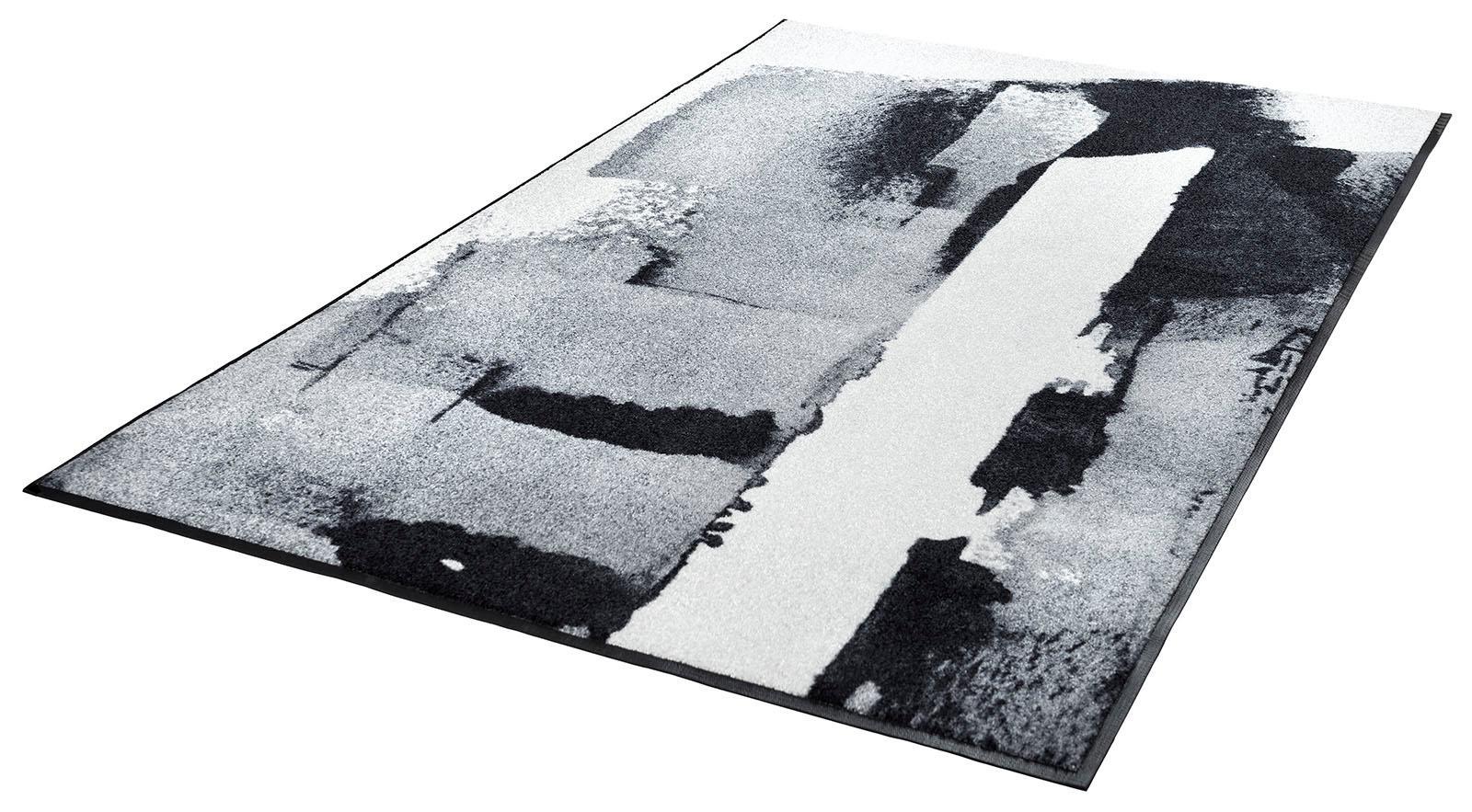 Teppich Das Leben wash+dry by Kleen-Tex rechteckig Höhe 7 mm gedruckt