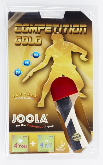 Joola Tischtennisschläger Competition Gold (Set) Technik & Freizeit/Sport & Freizeit/Sportarten/Tischtennis/Tischtennis-Ausrüstung