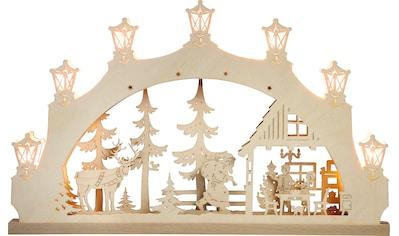 Weigla LED Schwibbogen »Weihnachtsabend«, 1 tlg., 7-flammig kaufen
