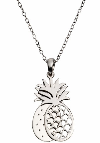 Firetti Kette mit Anhänger »Ananas, rhodiniert, glänzend, diamantiert« kaufen