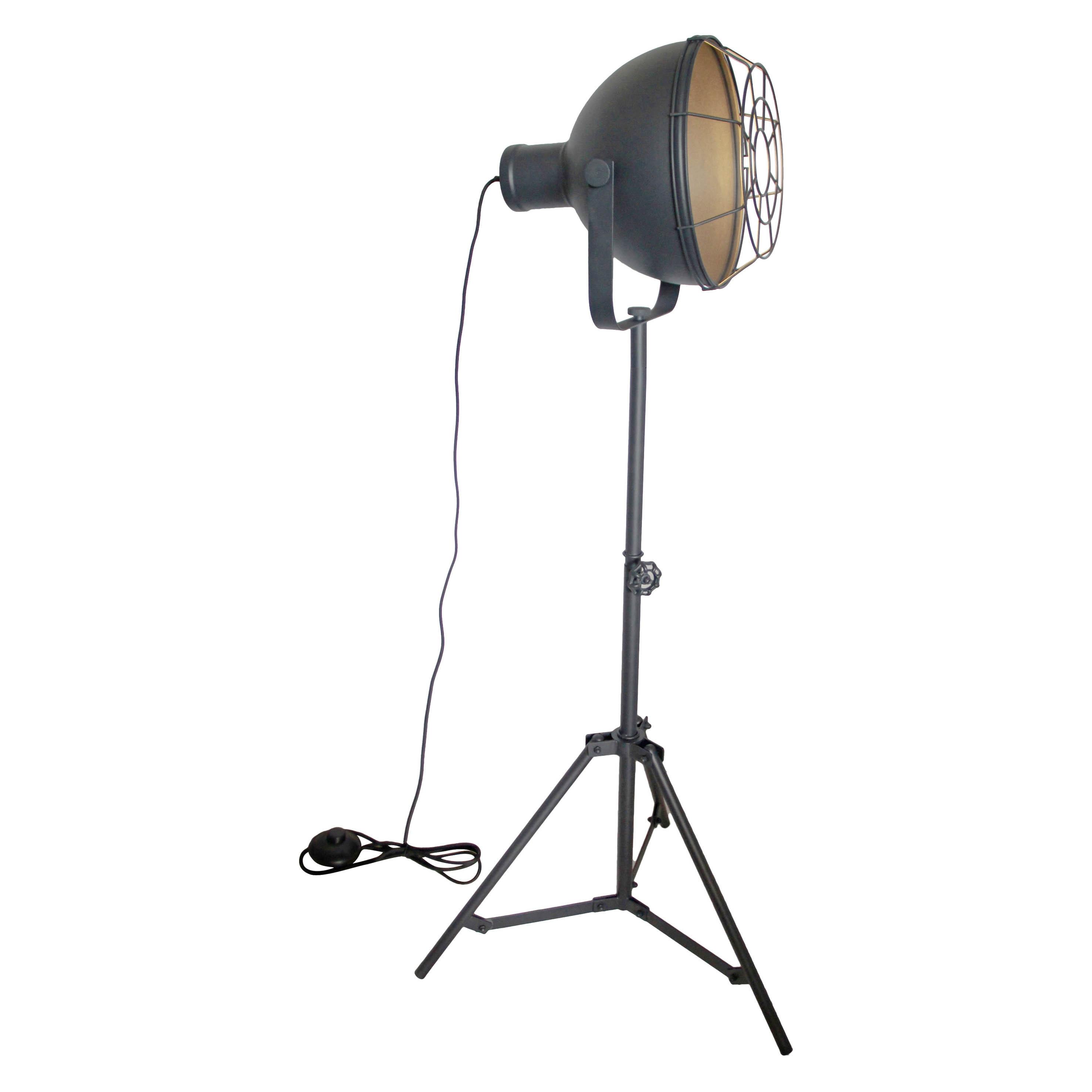 Brilliant Leuchten Jesper Standleuchte 39cm Gitter schwarz