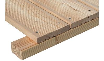 BM Massivholz Terrassendielen, mit Unterkonstruktion kaufen