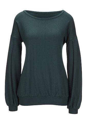LINEA TESINI by Heine Sweatshirt, mit Ärmelbündchen kaufen
