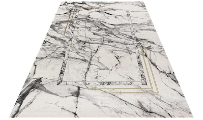 Festival Teppich »Opal 760«, rechteckig, 12 mm Höhe, Hoch-Tief-Effekt, Marmor Optik,... kaufen