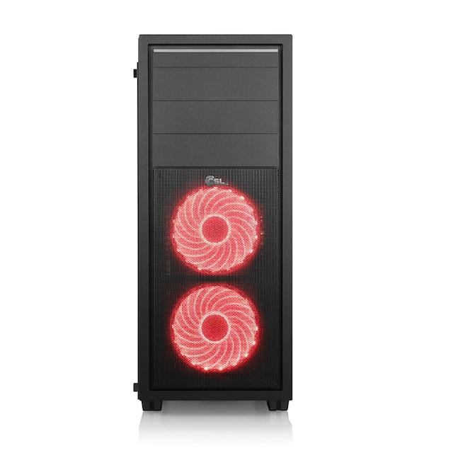 "CSL Multimedia PC Set Ryzen 3 3200G | Vega 8 | 16 GB DDR4 | 27"" TFT »Sprint T8198 Windows 10 Home«"