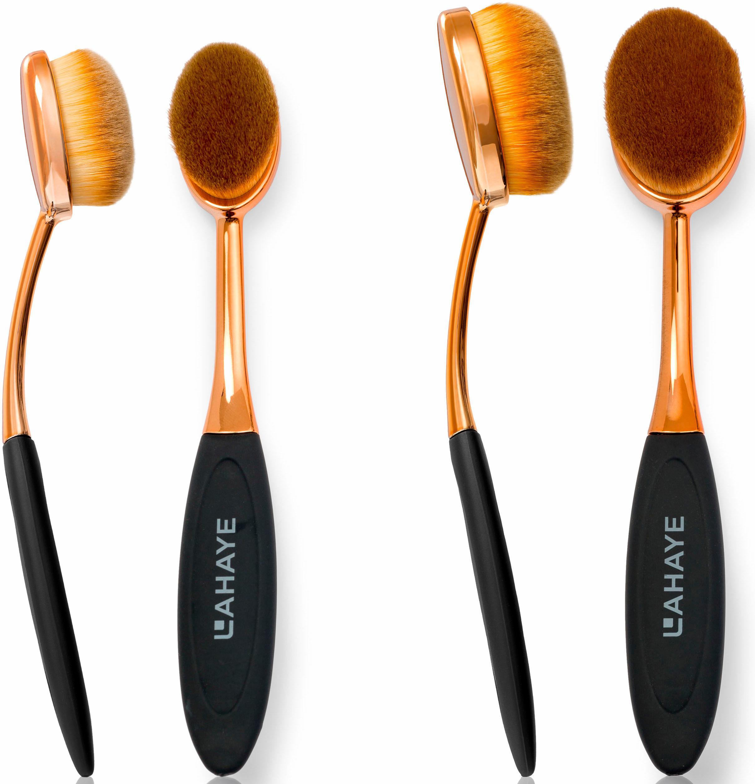Lahaye Make-up Brush Set Oval Pinselset (2-tlg) Preisvergleich