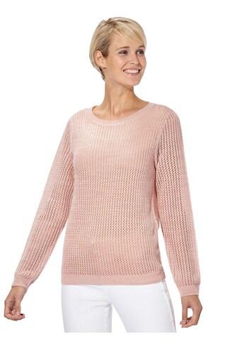 Classic Basics Pullover aus sommerlich leichtem Ajourstrick kaufen