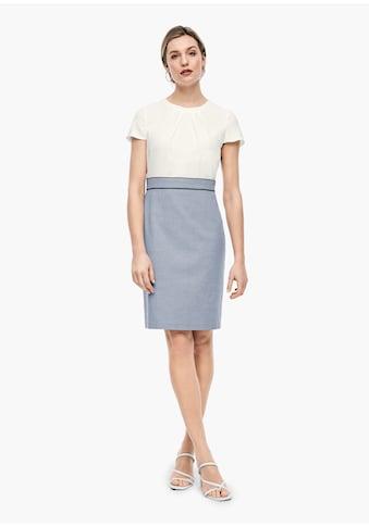 s.Oliver BLACK LABEL Webware - Kleid kaufen