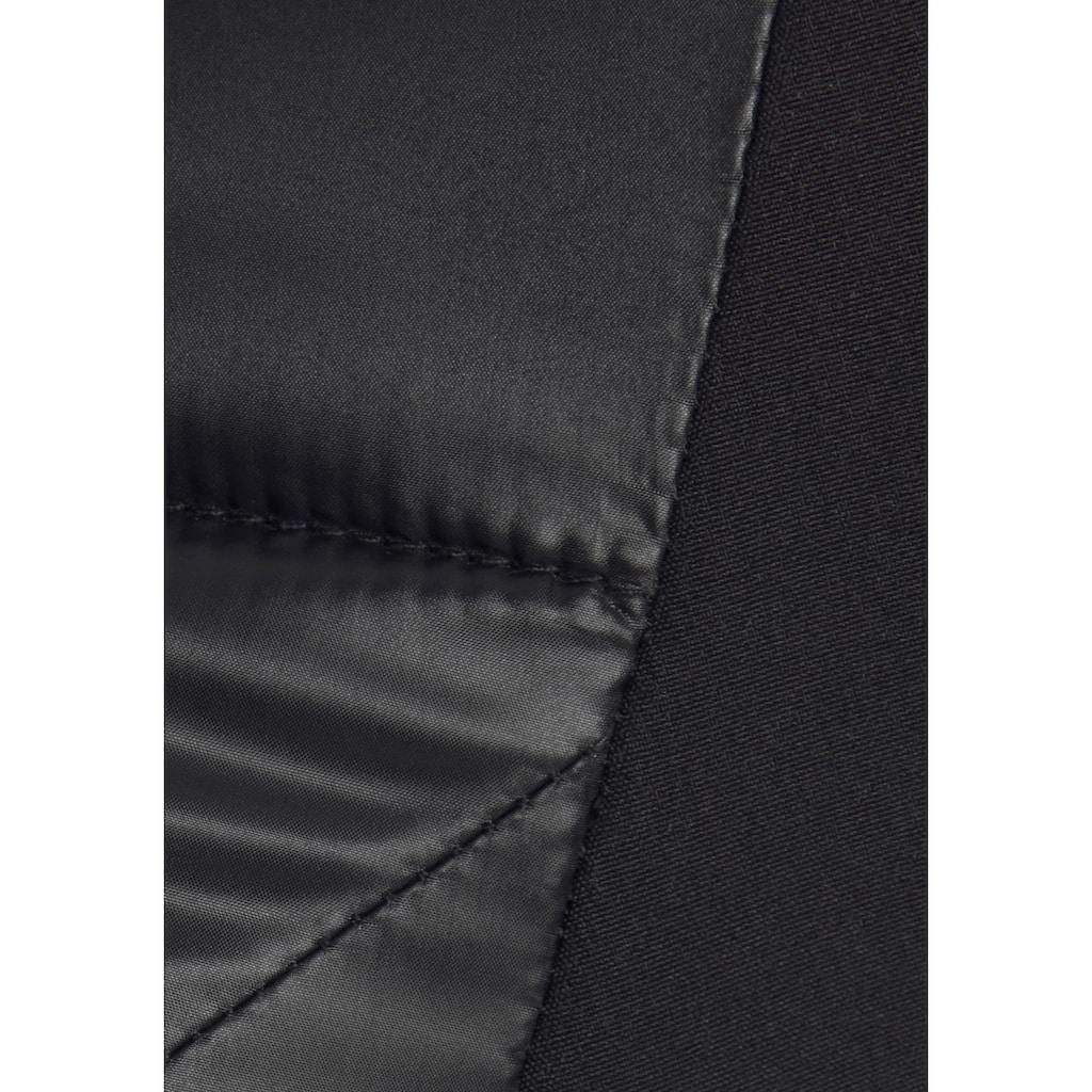 ALPENBLITZ Softshelljacke »Bergen long«, mit gesteppten Body-Partien Langform, perfekt für die Übergangszeit