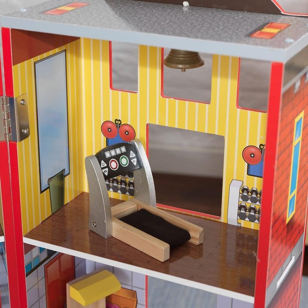 KidKraft® Puppenhaus »Helden des Alltags«, mit Zubehör