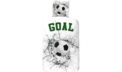 good morning Kinderbettwäsche »Pascal«, mit Fußball kaufen