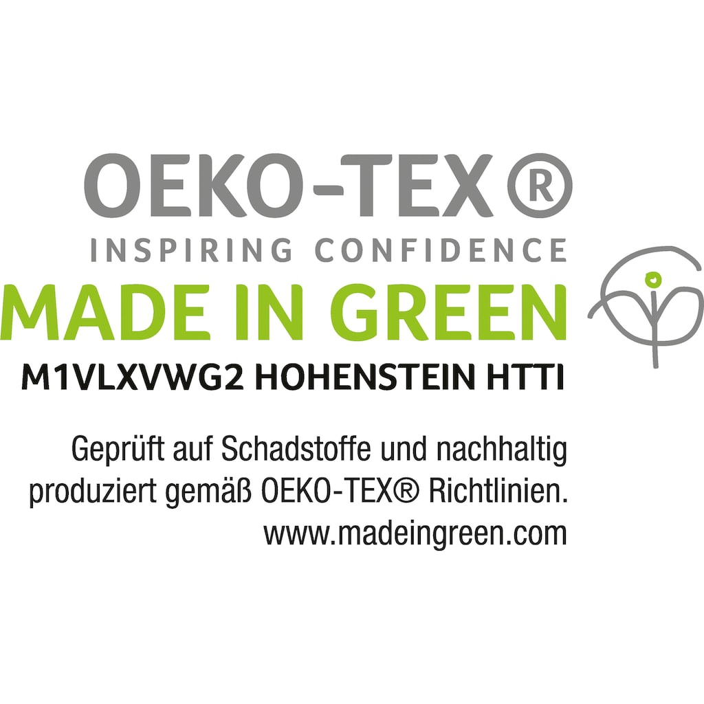 SETEX Bettwäsche »Setex Halbleinen«, in tollen Unifarben