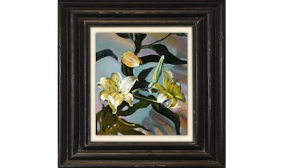 Holzbild »Gelbe Blüten« kaufen