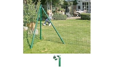 GAH Alberts Eckpfosten »Fix-Clip Pro®«, für Maschendrahthöhe 153 cm, zum Einbetonieren kaufen