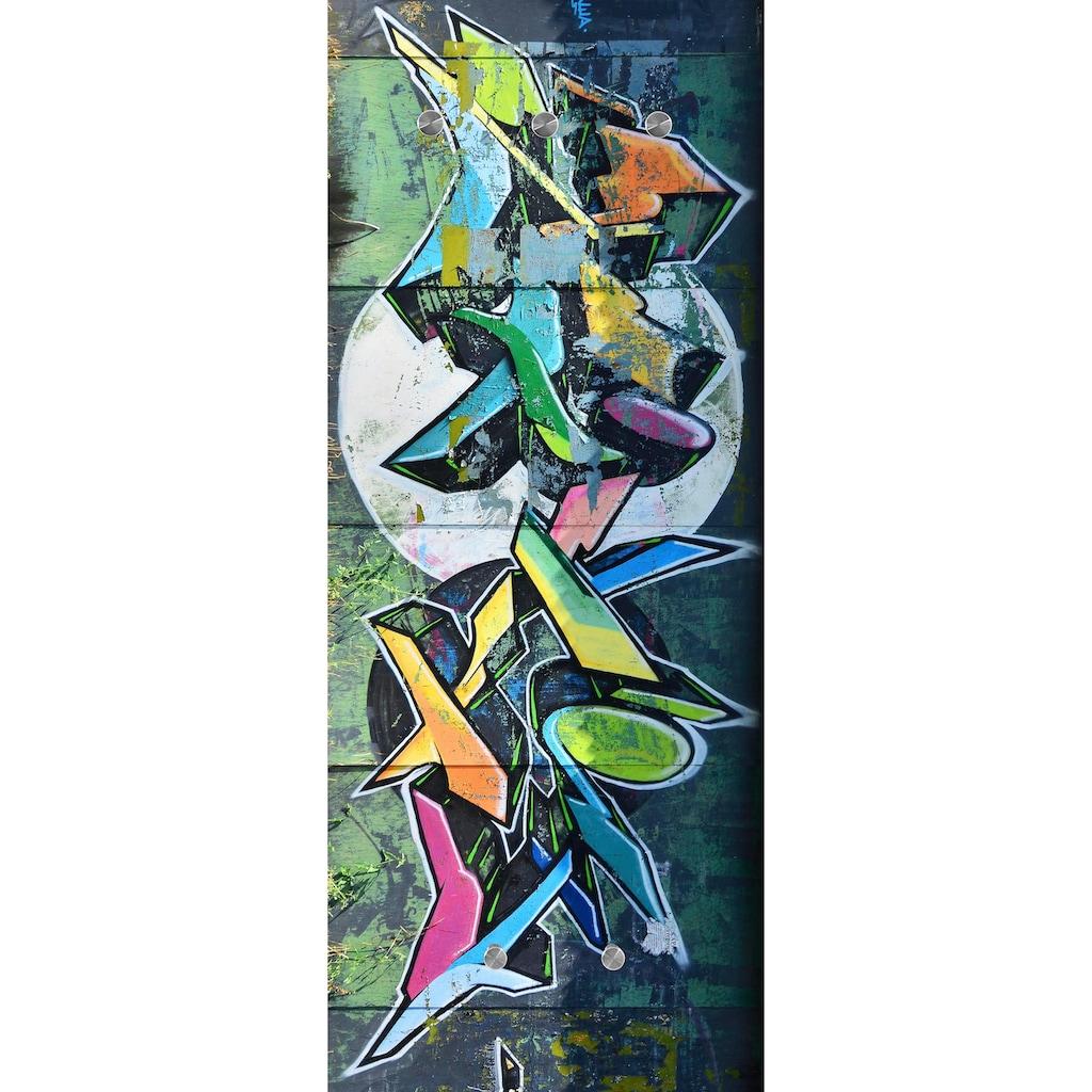 Spiegelprofi GmbH Garderobe »Graffiti«