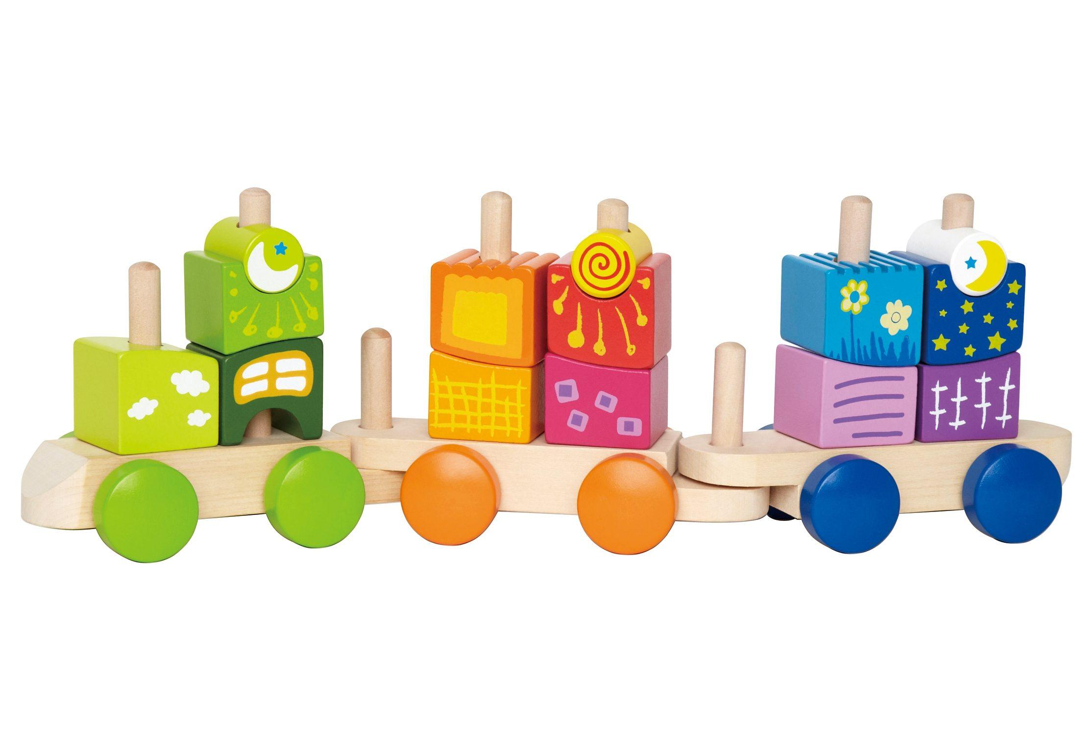 Hape Spielzeug-Eisenbahn (Set 17-tlg) Kindermode/Spielzeug/Lernspielzeug/Lernspiele