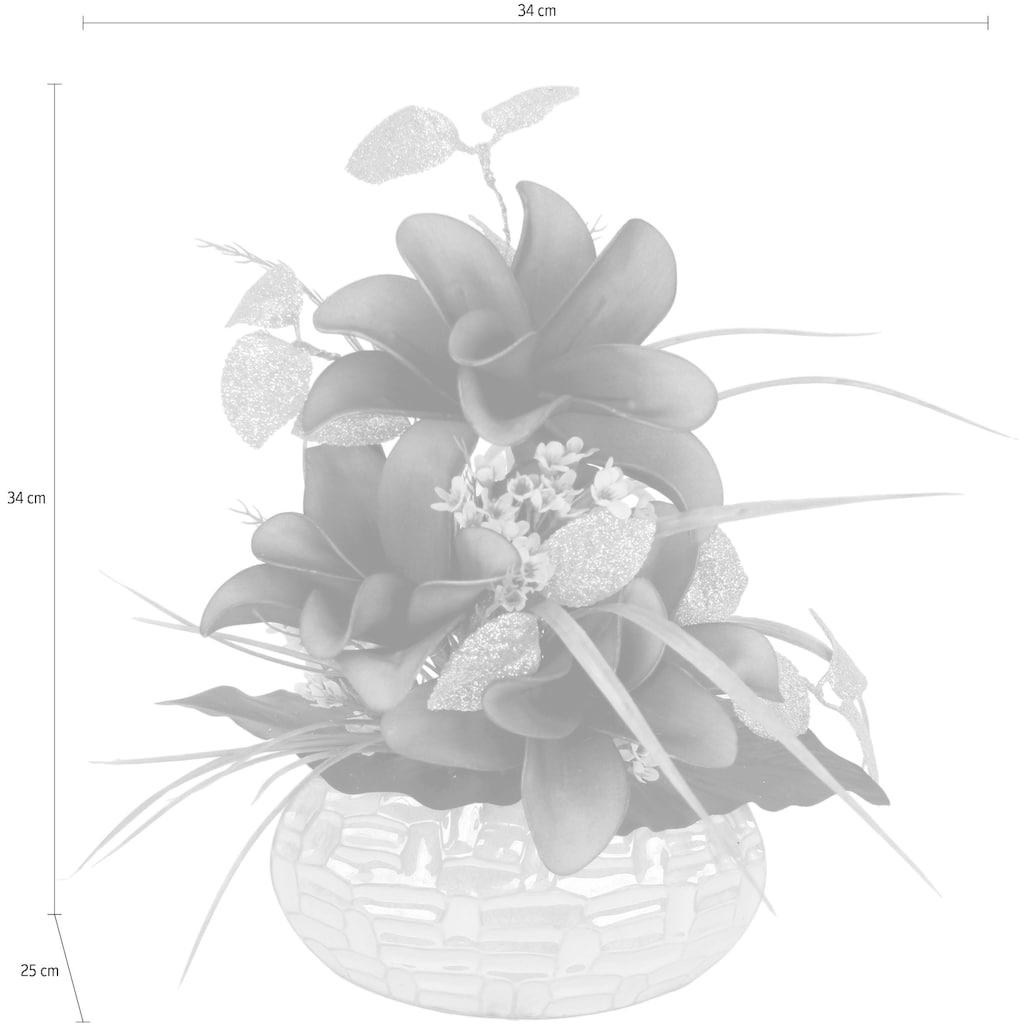 I.GE.A. Kunstpflanze, Arrangement im Topf