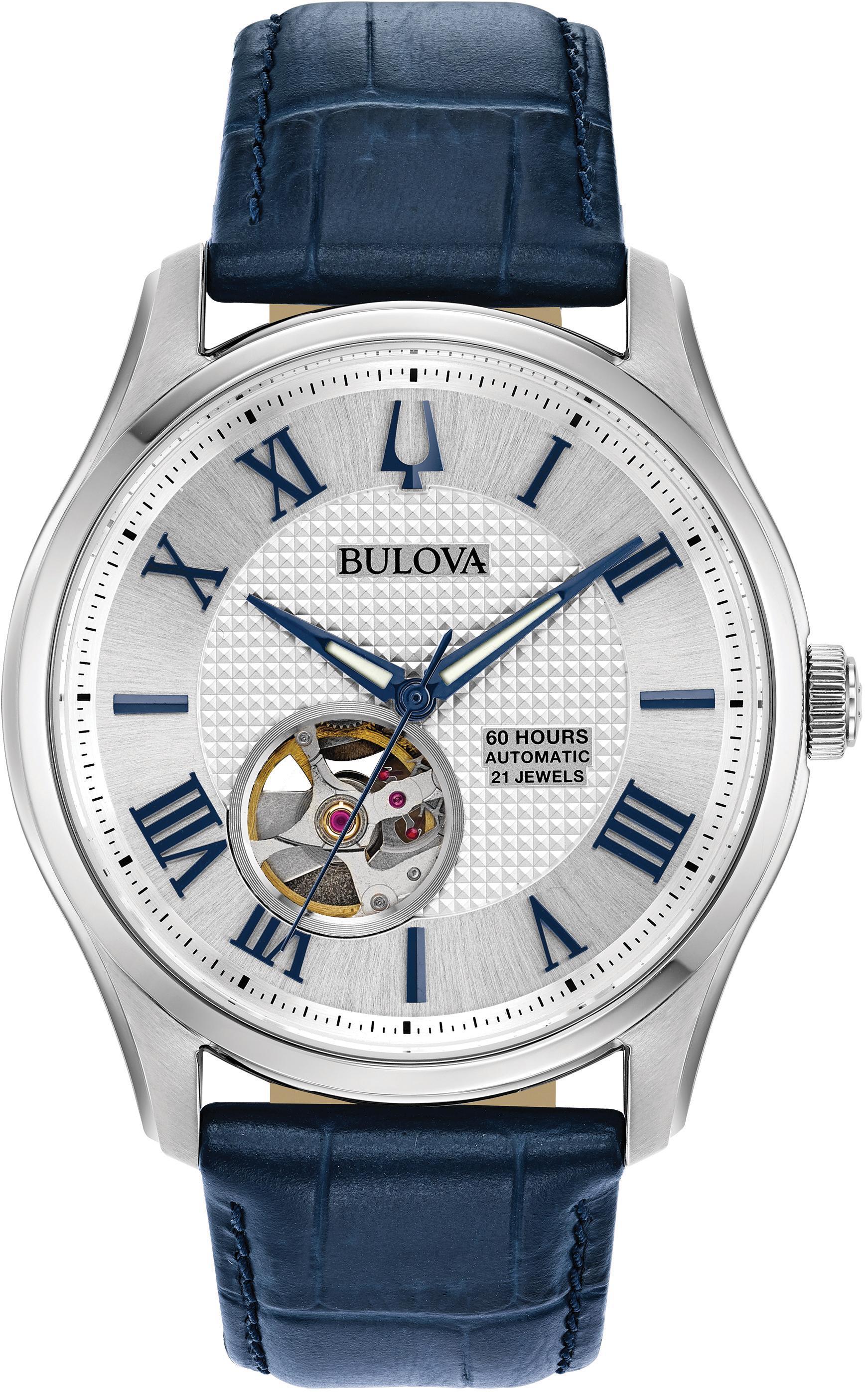 Bulova Automatikuhr Wilton 96A206 | Uhren > Automatikuhren | Bulova